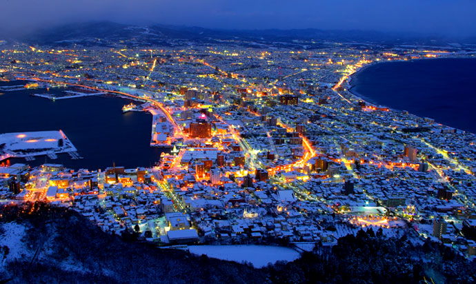 函館山からの夜景 Night view from Mt. Hakodate
